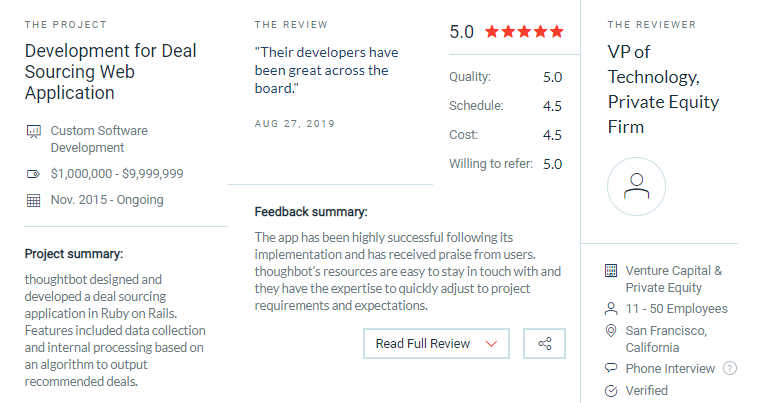 thoughtbot reviews
