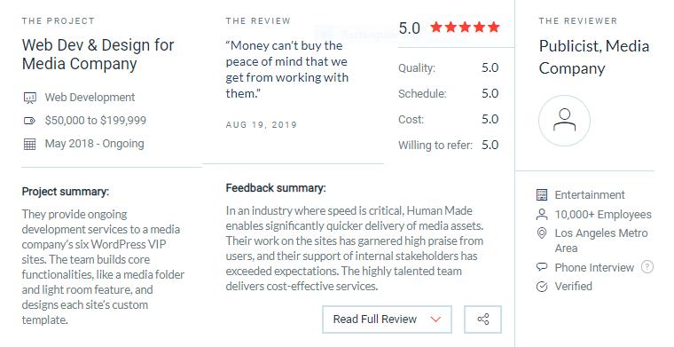 human made reviews