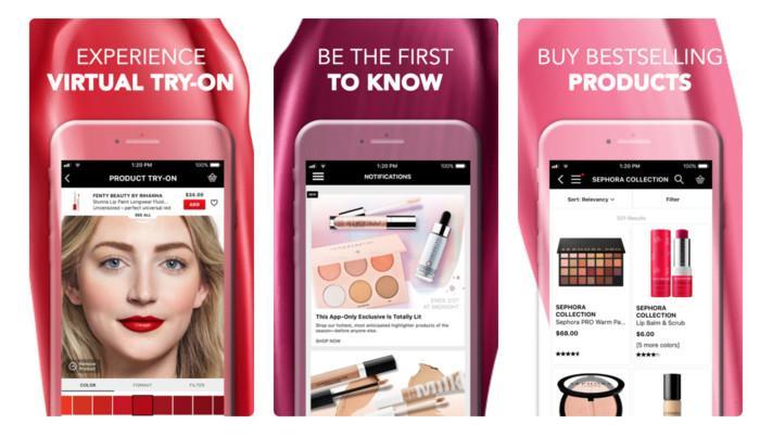 An online store app