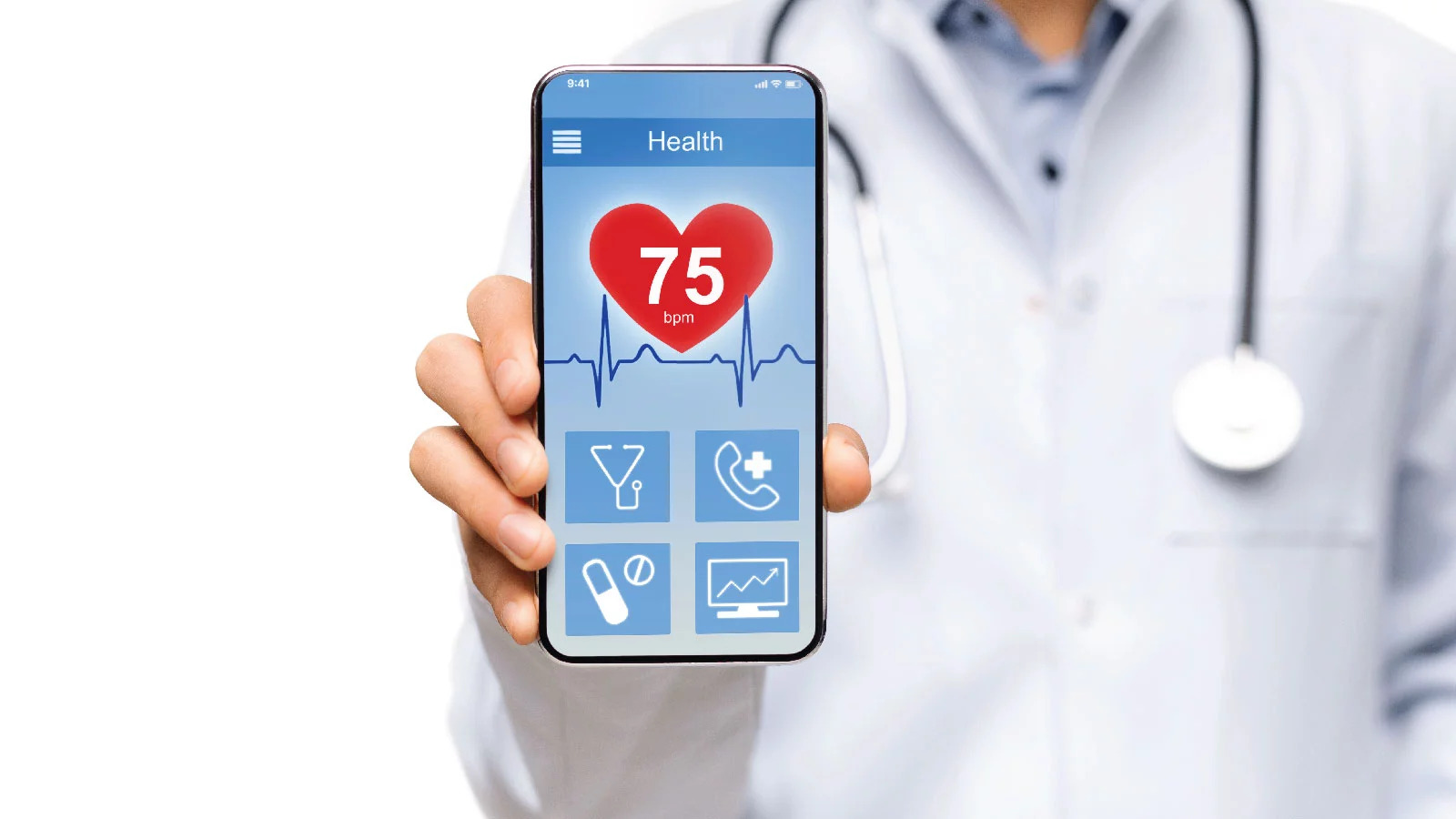 Feature of a medical app
