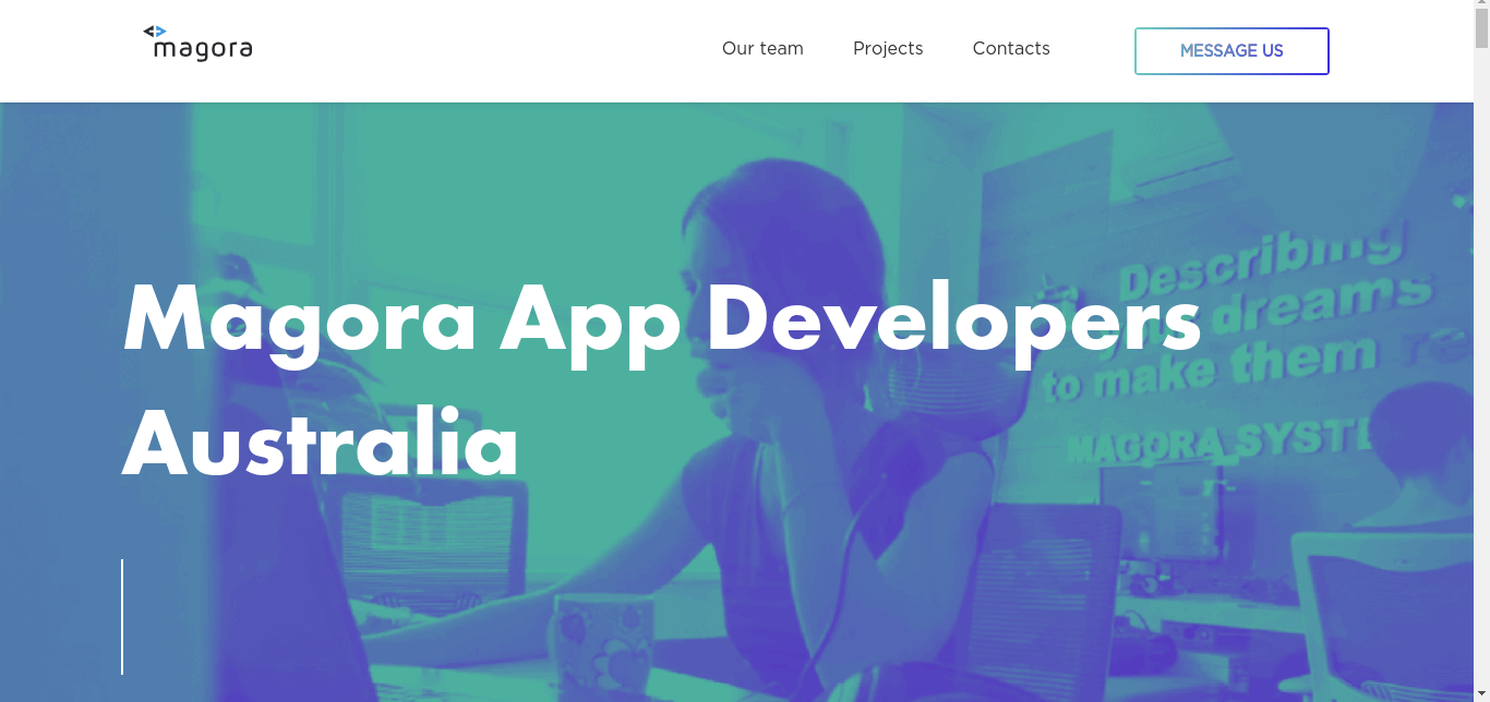 Magora one of the top app development companies in Australia