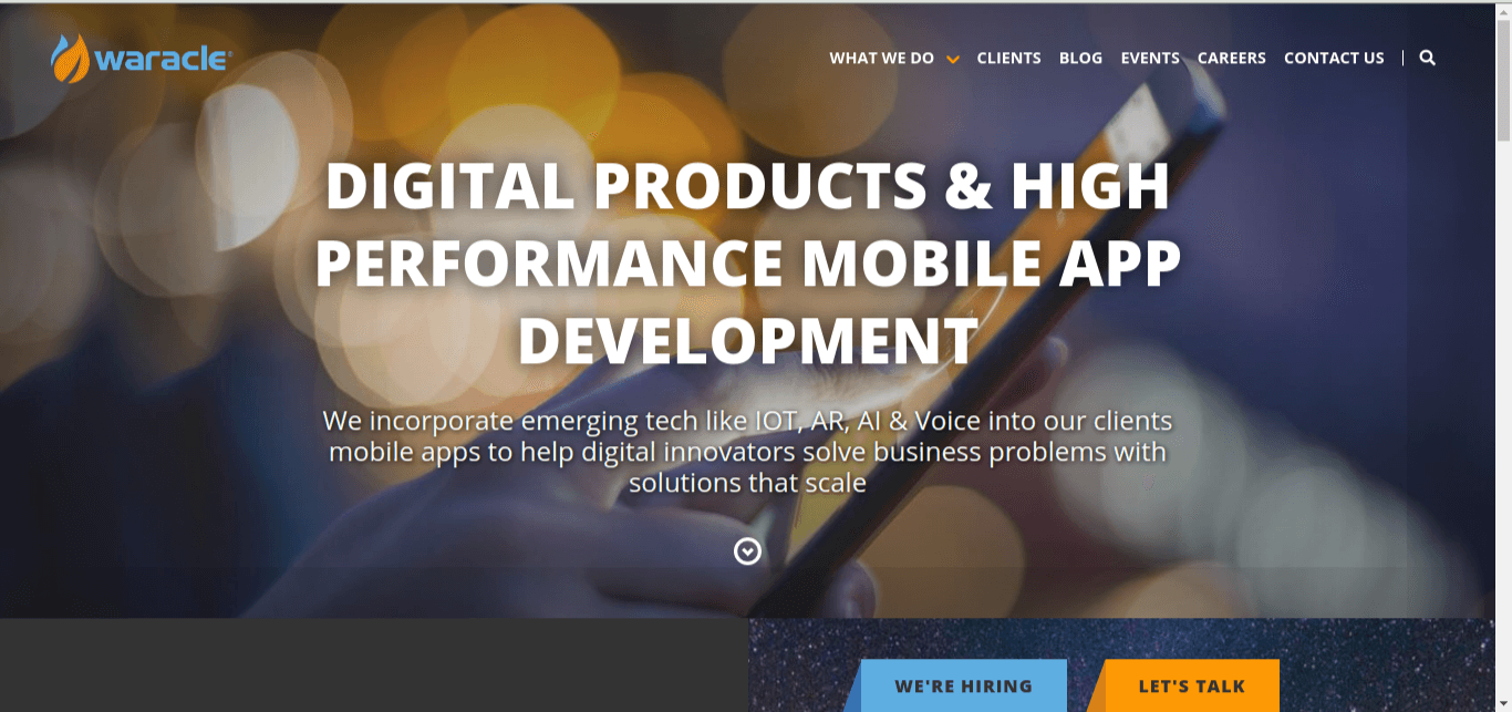 Waracle Mobile App Design and Development