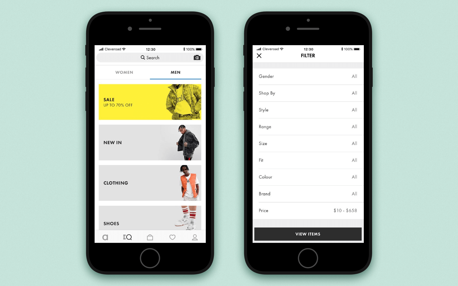 top features of an ecommerce app