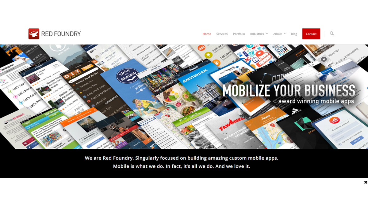 Red Foundry Mobile App Development Company