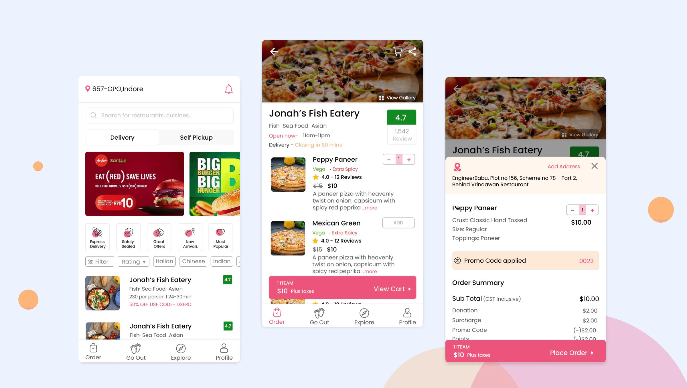 Food Development Apps