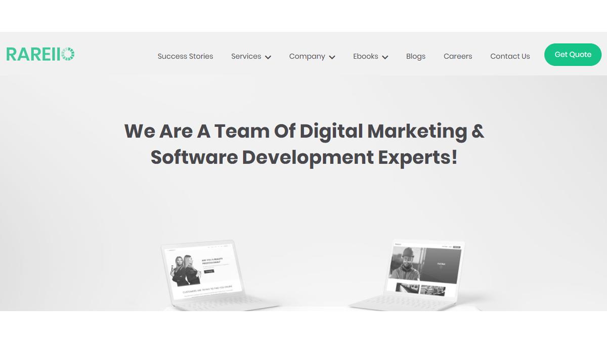 Software Development Companies in Australia: Rareiio