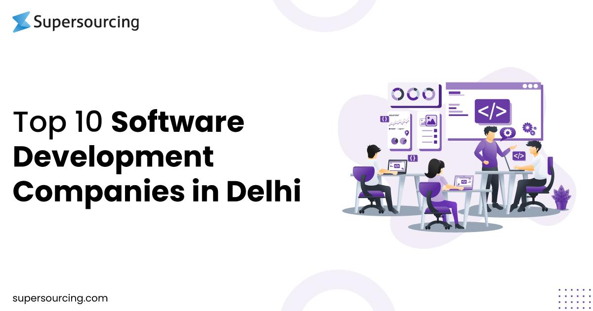 Software Development Companies in Delhi