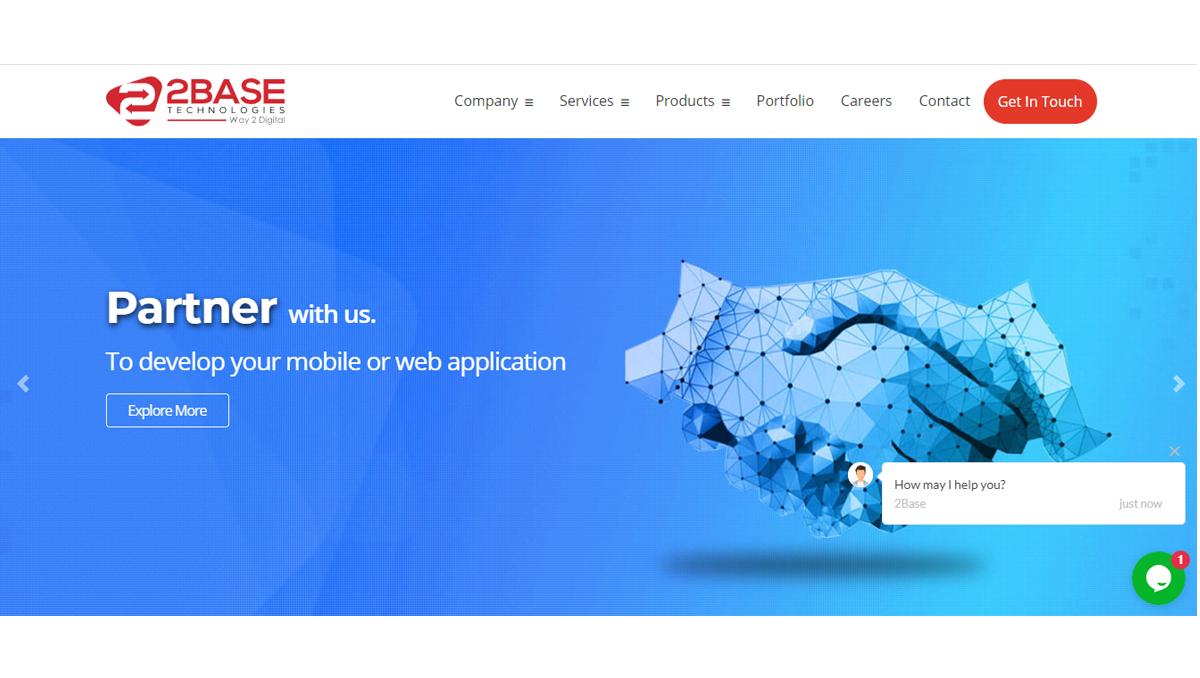 2Base Technologies Pvt. Ltd. Software Development Company in Australia
