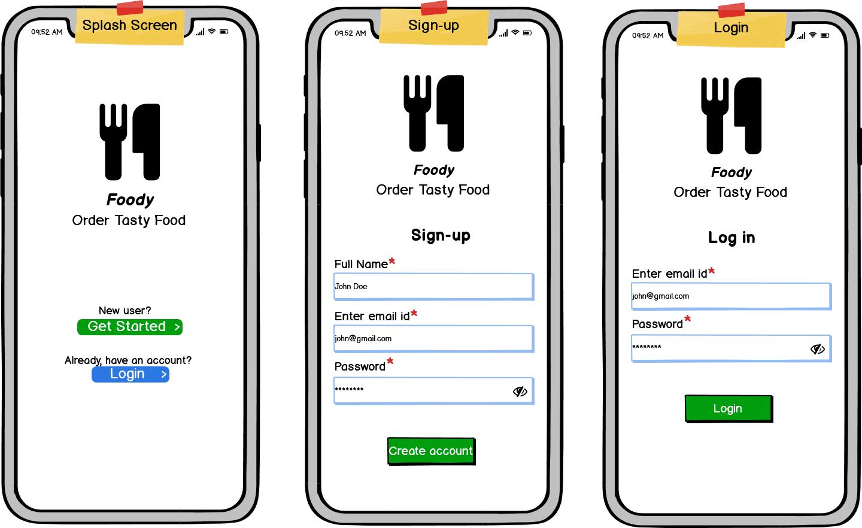 build food ordering app like Zomato