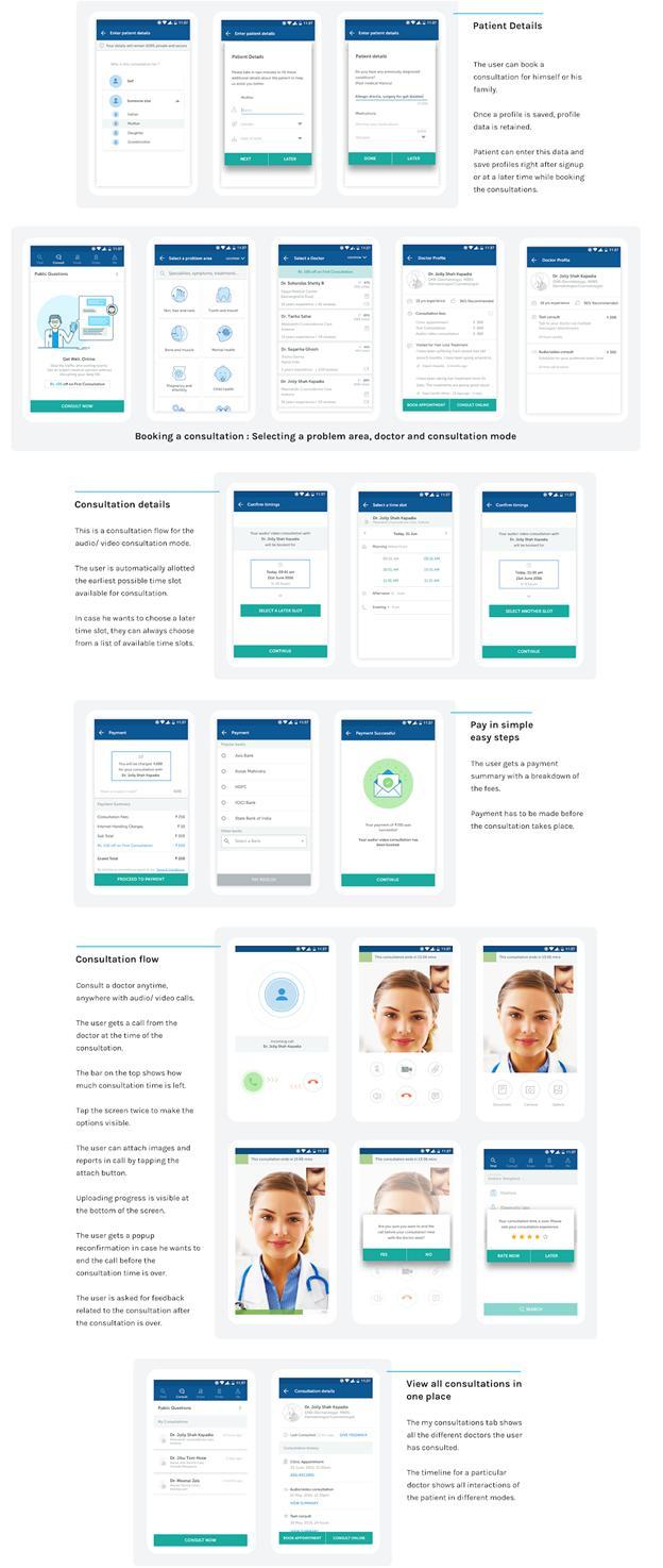 healthcare app like Practo