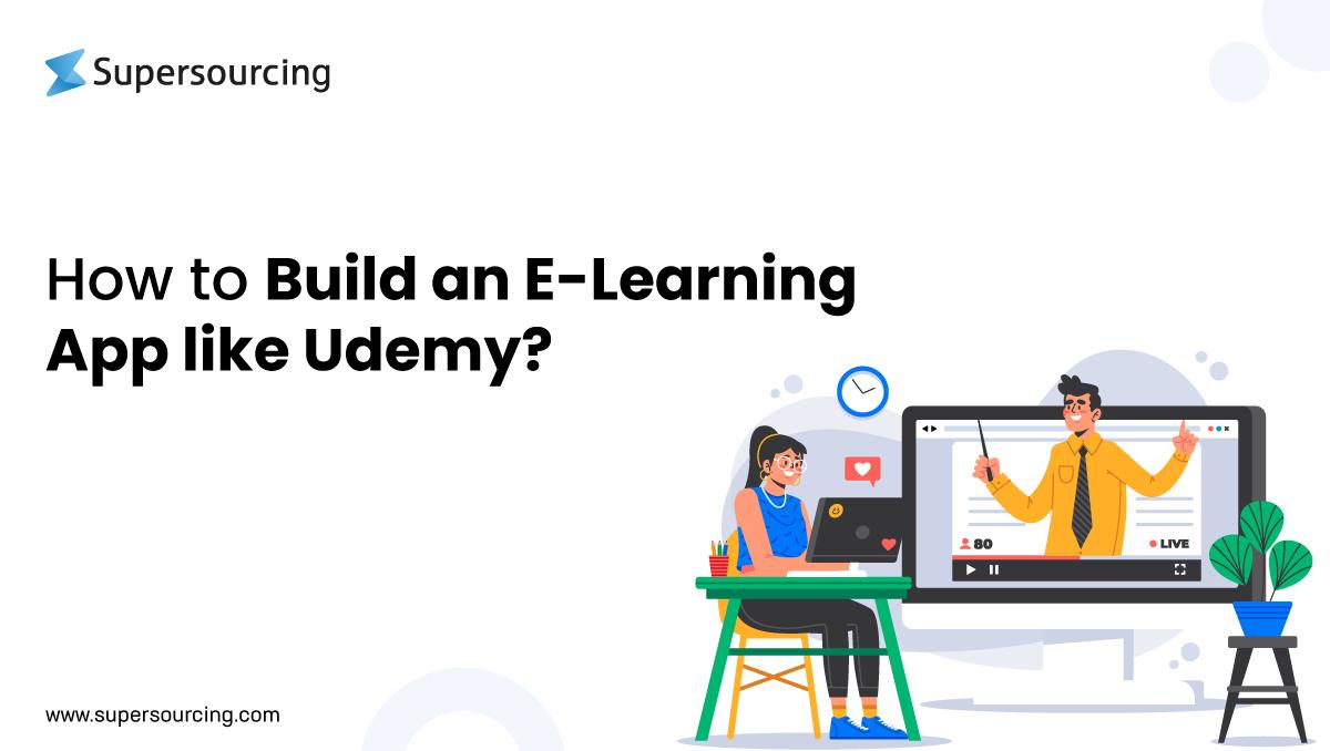 build an E-learning app like Udemy