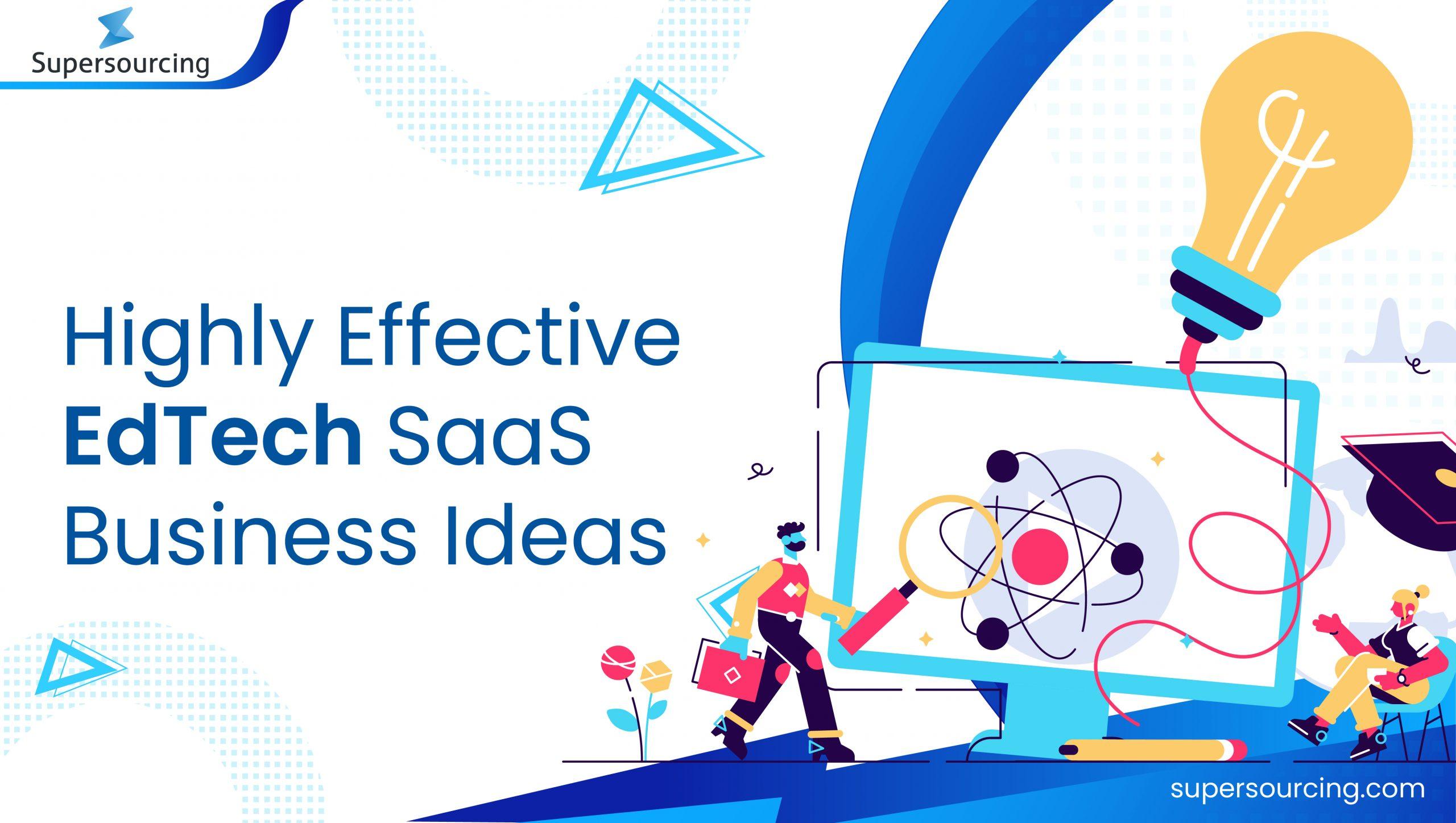 EdTech SaaS ideas