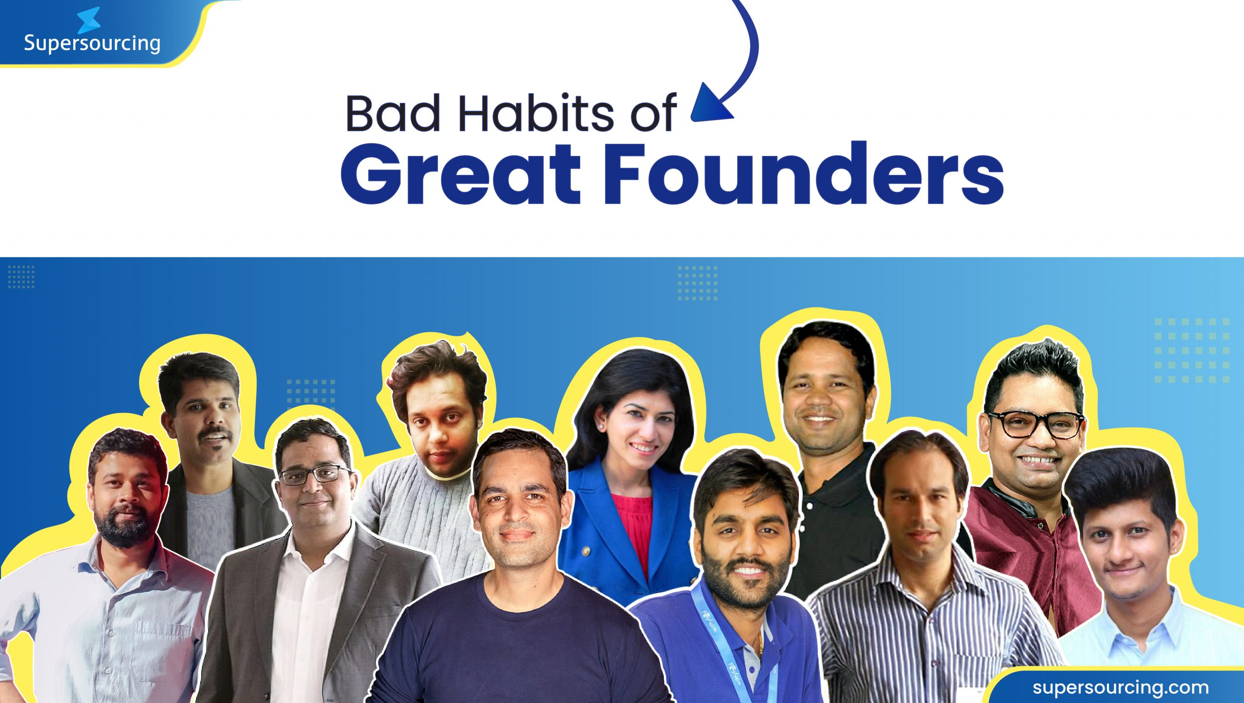 Bad Habits of Great Founders