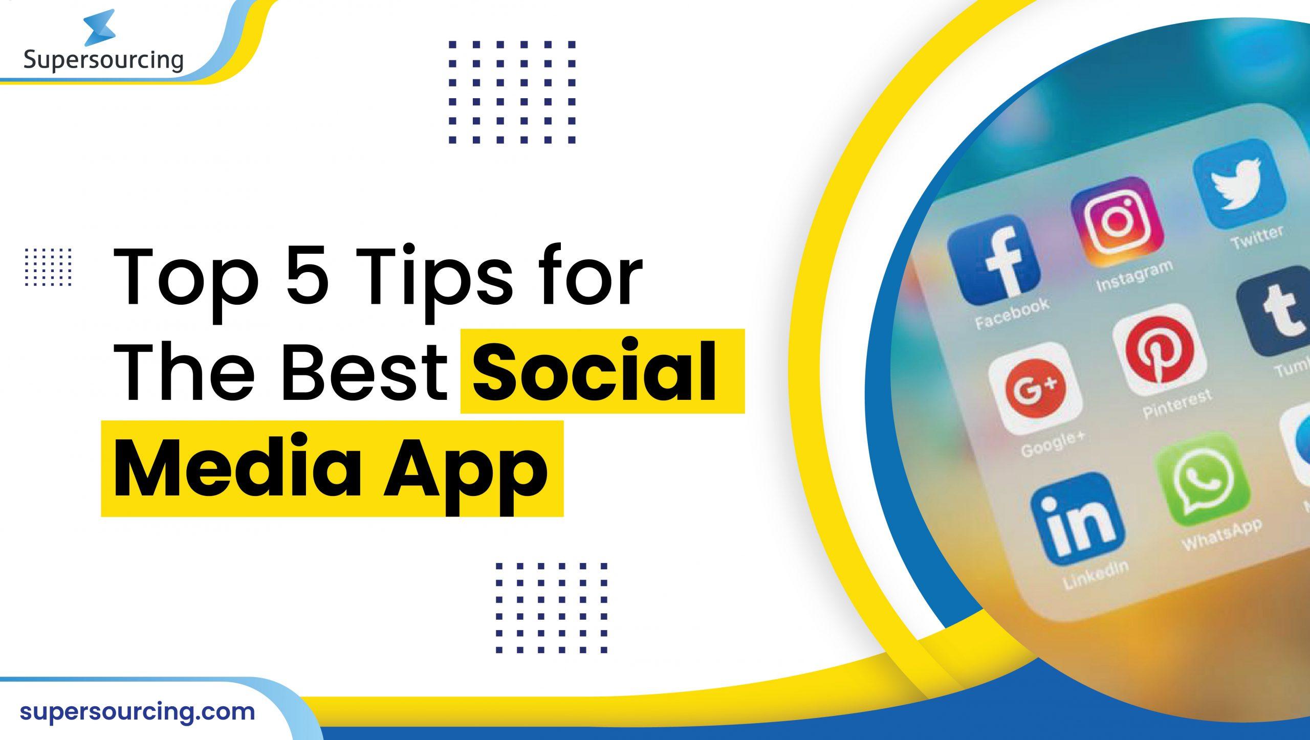 best social media app