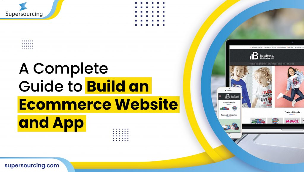 build an ecommerce website & app