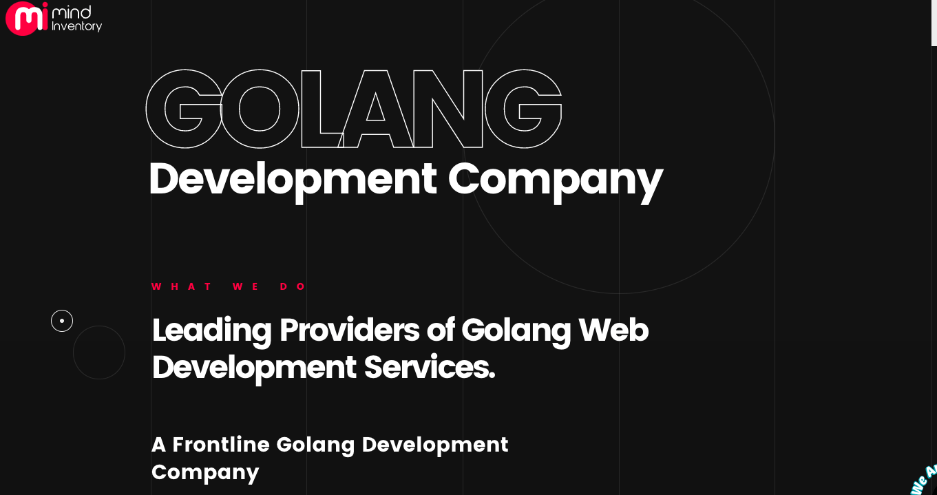 golang development companies